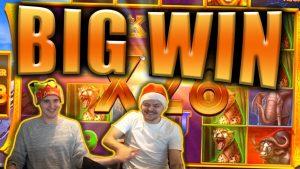 "BIG WIN per ""SAFARI GOLD MEGAWAYS"" lizdą - ""Casino Stream Big Win"""