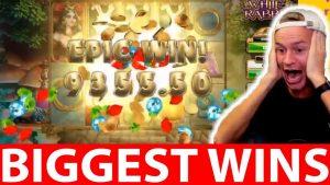 Streamers Biggest Casino Wins #29 Daskelelele EPIC WIN WHITE RABBIT ! AMAIZING !