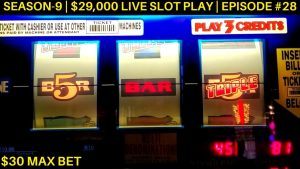 Tinggi Wates 3 Mesin Reel Mesin BIG KENARI | Tinggi Wates Piggy Bankin Live Slot Play | SE 9 | EP # 28