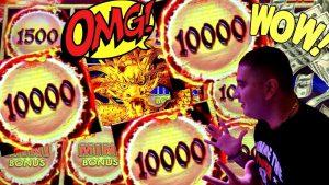 New Dragon Link GENGHIS KHAN Slot Machine HUGE WIN | Live Premiere Stream On New Dragon Link
