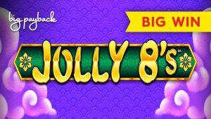 Jolly 8's Slot – BIG WIN BONUS – $6 MAX BET!