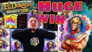 HUGE WIN on El Dorado Infinity Reels Slot – £10 Bet!