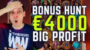 €4000 BONUS HUNT RESULTS large WIN