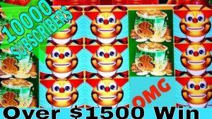 ★ MASSIVE VINNA ★ Lucky Honeycomb Twin Fever rifa ★ MEGA stór VINNA ★ FRÁ $ 200.00 TIL HANDPAY JACKPOT!