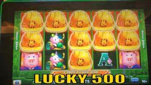 ★SO MANY HELMETS !☆ $500 Slot Live Play★novel Series LUCKY 500☆HUFF N' PUFF Slot  HIGH bound☆