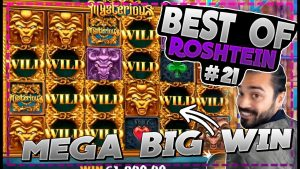MYSTERIOUS MEGA BIG WIN | Best of Roshtein #21