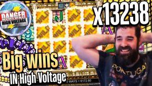 Rekordvind x13238 på Danger High Voltage - Top 5 Store gevinster i casinospil