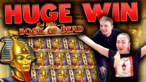 SUPER MEGA BIG WIN on Book of Dead!!