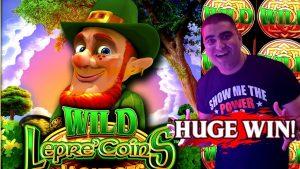 ★ MASSIV WIN ★ On Wonder 4 Spinning Fortunes WIld Lepre'Coins Slot Machine - Max Bet Super Free Games