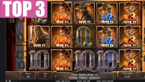 TOP 3 BIGGEST WIN ON SLOT DEAD OR ALIVE 2