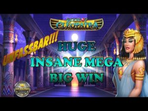 UNFASSBAR!!! HUGE INSANE MEGA BIG WIN BEI BOOK OF CLEOPATRA (STAKELOGIC) – 1€ EINSATZ!
