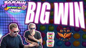Base Game Big Win on Jammin' Jars Slot –  Casino Stream Big Wins