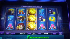 Velika pobjeda na utoru Eureka Real Blast .50 centada, Windcreek Casino