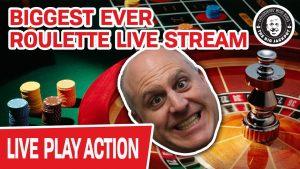 🔴 GROOTSTE OOIT Roulette Live Stream 🔴⚫🟢 Laten we het krijgen!