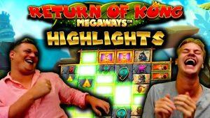 Return of Kong Megaways – BIG WIN Highlights!