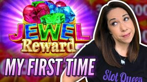 💎 SLOT QUEEN GOES JEWEL HUNTING  💎 LET'S GET A BIG WIN ON KONAMI  ‼️