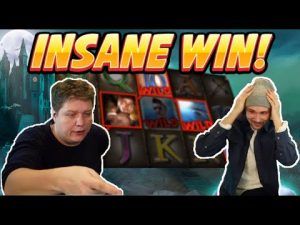 INSANE WIN! Vampires Big win – HUGE WIN on Casino slots from Casinodaddy LIVE STREAM