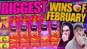 BIGGEST SLOT AND CASINO WINS OF FEB!! Fruity Slots Highlights!