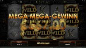 The Game of Thrones Slot – Stark Freespins  – Mega Big Win (651x Bet)