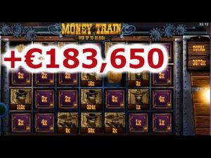 TOP 5 BIGGEST WINS OF THE calendar week ★ novel WIN tape €183,650 ON ROSHTEIN MONEYTRAIN