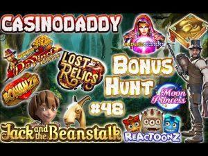 large WIN!!! CasinoDaddy Bonus Hunt – Bonus Compilation – Bonus circular episode #48