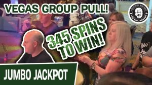 😱 345 Spins to Win! 🎰 Jackpot! MASSIVE Las Vegas Slot Machine grouping force