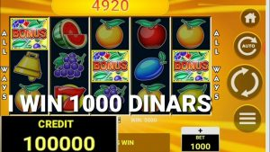 All Ways Fruits casino bonus Slots / Forzza casino bonus Tunisie / My biggest win