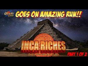 Aristocrat Classic Inca Riches Slot Bonuses large Wins portion 1