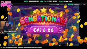 Bibanator sweetness BONANZA 300x live slot MEGA large WIN