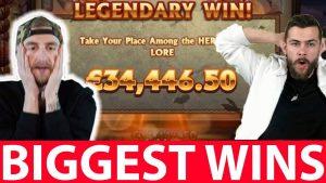 Biggest casino bonus Wins #15 Legendary Win inwards ONLINE casino bonus Roshtein, Classy Beef, casinodaddy