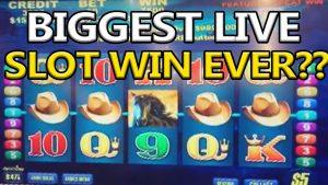 Biggest live Slot win ever??