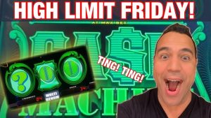 😱CASH MACHINE large WIN?!? |$20-$50 DRAGON LINK BETS|| HARD stone SACRAMENTO HIGH bound Fri! 🎰🎸👑