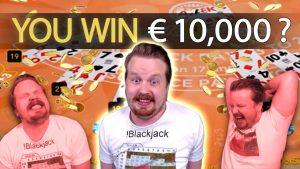 Sessio Play Blackjack DELIRUS, large BETS praeter magnum wins