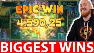 CRAZY casino bonus large WIN   RICK & MORTY SLOT INSANE WIN CLASSY BEEF