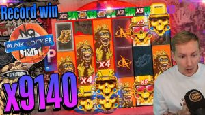 CasinoDaddy mega win 45.000 € on Punk Rocker – Top 5 large wins inward casino bonus slot