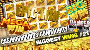 CasinoGrounds Community Biggest Wins #21 / 2017
