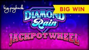 Diamond pelting Jackpot Wheel Slot – large WIN BONUS!