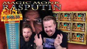 FINALLY!! large Win on Rasputin