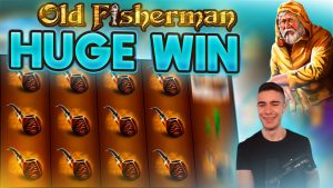HUGE WIN ON OLD FISHERMAN SLOT