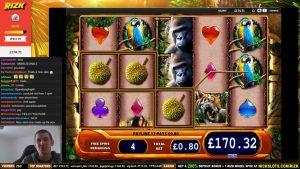 HUGE WIN on Amazon Queen Slot – £0.80 Bet