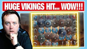 HUGE WIN on VIKINGS SLOT !!!