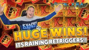HUGE WINS on volume of Ra magic from 700€ to ??? casino bonus Games session