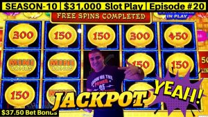High bound Lightning Link Slot Machine HANDPAY JACKPOT – $37.50 Bet | flavour 10 | Episode #20