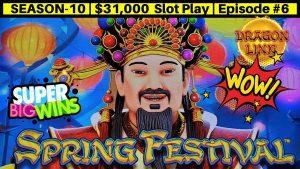 Máquina tragamonedas Dragon Link de alto límite WIN grande y Mighty Cash Doble hacia arriba   sabor 10   Episodio # 6
