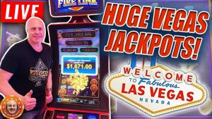 I ❤️ LAS VEGAS! xx-4 60 minutes period #3 of THE BIGGEST JACKPOT WINS ON YOUTUBE! 😱 LIVE!