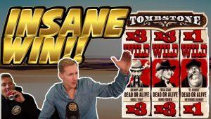 INSANE WIN! Надмагільная пліта вялікая выйгрыш - ВЯЛІЧНЫ ПЕРАМОГ на бонусных слотах казіно з патоку Casinodaddy LIVE