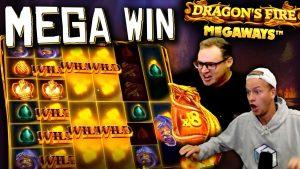 Dragon'ın alovlu Megaways'ində INSANE WIN (€ 10 bahis)