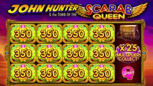 👑 John Hunter together with The Scarab Queen large Win 💰 A Game past times Pragmatic Play.