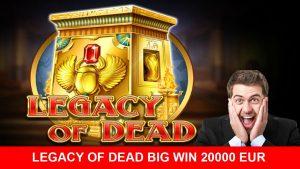 Legency of dead large win Play'n GO slots