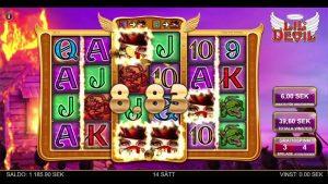 Lil Devil heartstopper grind! AWESOME Bonus! large Win on online casino bonus